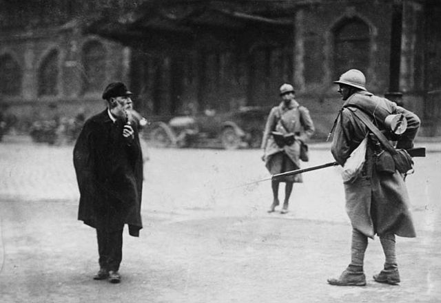 french occupation of Ruhr