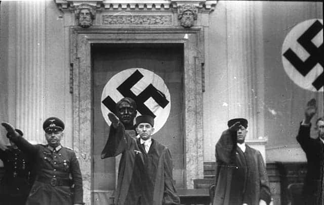 Nazi control of the legal system