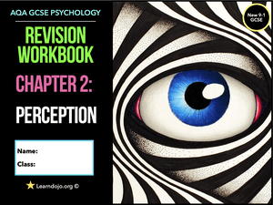 GCSE Psychology Perception