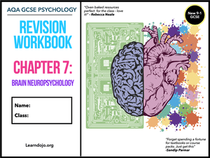 GCSE Psychology Brain Neuropsychology