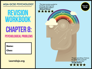 GCSE Psychology Psychological Problems